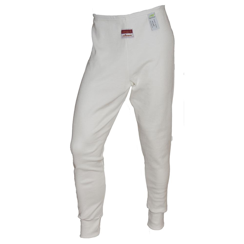 P1 Racewear Nomex Long Johns in bianco