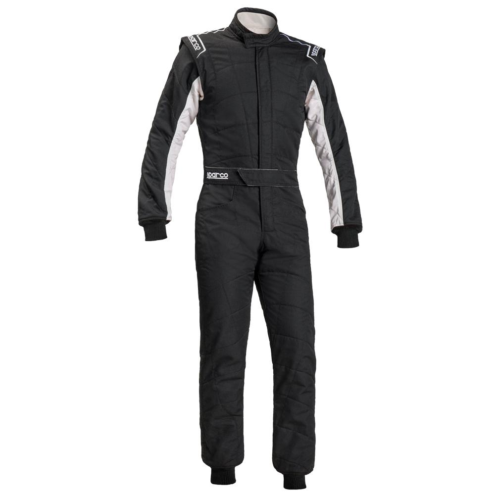 Sparco Sprint RS-2.1 Race Suit in bianco e nero