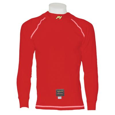 P1 Racewear Standard Fit Nomex Top in rosso
