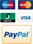 All major debit and credit cards accepted